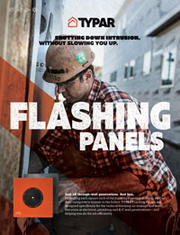 Typar Flashing Panels Sell Sheet
